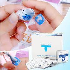 40pcs set gel polish remover wraps pads manicure tools wet wipes