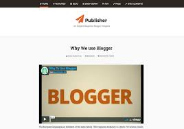 publisher blogger template u2022 blogspot templates 2018