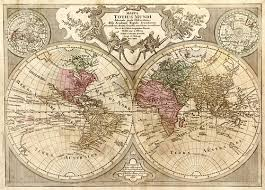 antique map world 1775 world antique map museum outlets