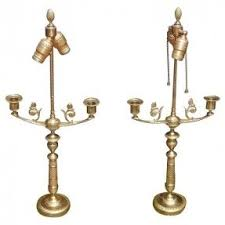 Candlestick Lamp by Antique Brass Candlestick Table Lamp Foter