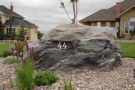 decorative artificial rock big granite