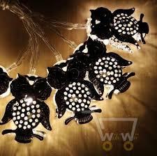 10led owl lights string battery and led twinkle light