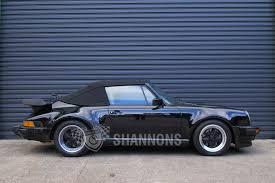 porsche classic convertible sold porsche 930 turbo cabriolet auctions lot 19 shannons