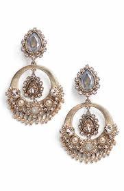 Nakamol Czech Crystal Beaded Chandelier Women U0027s Marchesa Jewelry Nordstrom