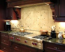 Kitchen Backsplash Cherry Cabinets Small Kitchen Decoration Using Travertine Contemporary Kitchen