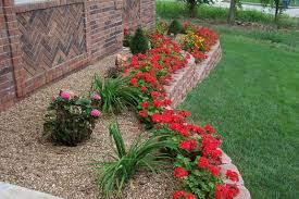 small flower bed designs front landscaping ideas how much does