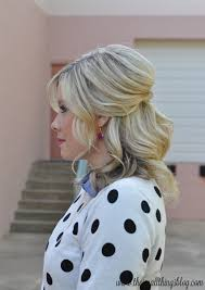 goody u0027s black friday 2014 casual half up hair tutorial polka dots u2013 the small things blog