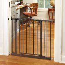 Child Proof Gates For Stairs Amazon Com Portico Arch Gate Bronze Fits Spaces Between 28 25