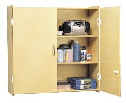storage cabinets with shelves locking wall storage cabinet classroom direct