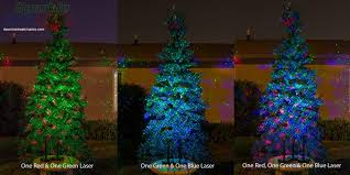 christmas tree laser lights sparkle magic lights