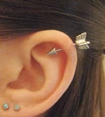 flower earring tattoo tattoos pinterest kvetina a náušnice