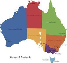 map of australia and oceania countries and capitals australia facts for facts about australia for