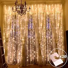 outop window curtain lights 304led 9 8ft 8 modes