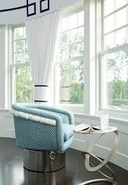Greek Key Pattern Curtains Chevron Window Curtains Contemporary Living Room Caldwell Flake
