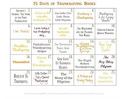 25 days of thanksgiving books with printable calendar subscriber