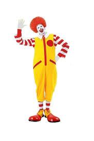clown jumpsuit ronald the clown fancy dress costume jumpsuit accessories