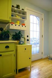 lime green kitchen cabinets remodelaholic kitchen with green cabinets