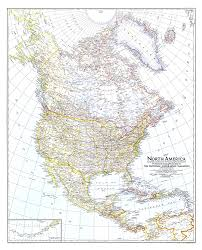 North America Map by America Map