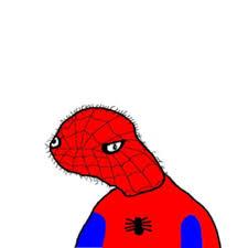 Spiderman Face Meme - spiderman drawing meme clipartxtras