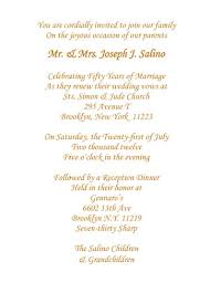 Wedding Invitation Cards Font Styles 50th Anniversary Party Invitation Style 1d