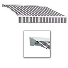 12 Awning Awntech 12 Ft Maui Lx Left Motor Retractable Acrylic Awning With