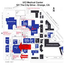 Irvine Map Directions To Uc Irvine Medical Center Robotic Prostatectomy