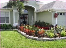No Grass Landscaping Ideas Landscaping Ideas For Front Yard Green Grass Wooden Decks No Grass