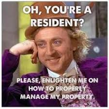 funny property management problems so true funny property