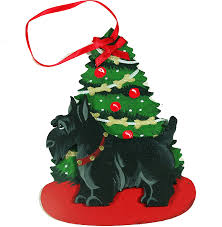 scottish terrier scottie dog christmas ornaments u2013 for the love