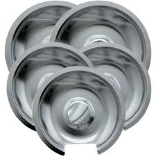 range kleen 5 piece drip pan style d fits hinged electric ranges