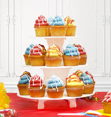 3 tier cupcake stand reusable 3 tier cupcake stand l mini cupcake holder l