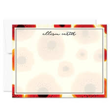 personalized cards personalized note cards personalized stationery the spotted