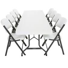 rectangle table and chairs table and chair rentals in houston by island breeze serving katy