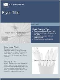 flyers and brochures templates flyer template design vector free