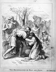 image the reconciliation of esau and jacob