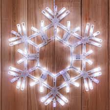 snowflake decorations snowflakes 20 led folding twinkle snowflake decoration