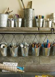 Galvanized Decor 23 Creative Ways Of Using Buckets In Interior And Exterior Décor