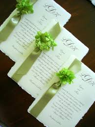 green wedding invitations designs wedding invitations custom stationery