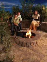 rumblestone fire pit insert fire pits fire places ricardo corporation