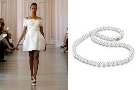 wedding dress necklace bridal jewelry by wedding dress style ritani