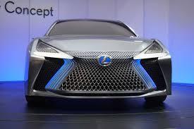 lexus lfa 2020 lexus ls concept brings big tech to tokyo motor show autoguide