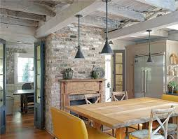 kitchen fireplace ideas country kitchen fireplace design and photos