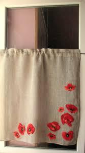 Gray Cafe Curtains Curtain Burlap Curtains Cafe Curtains Gray Poppy Linen