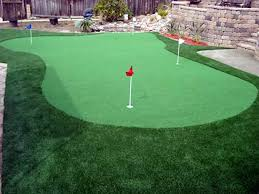 Small Backyard Putting Green Fake Lawn Stockton California Indoor Putting Green Small