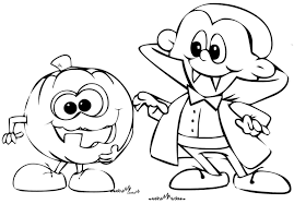 childrens scary coloring pages coloring page
