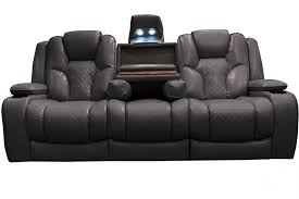 Reclining Armchair Leather Furniture Microfiber Reclining Sofa Leather Reclining Sofa Brown