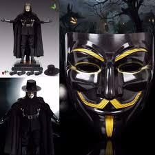 v for vendetta mask anonymous guy fawkes fancy dress fancy costume