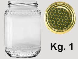 vasi in vetro economici vaso vetro alveolo per miele kg 1 agraria ughetto apicoltura