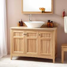 Oak Bathroom Cabinets by 48