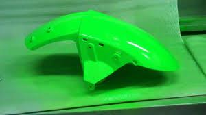 motorcycle fairing repair on abs plastic paint part 4 youtube